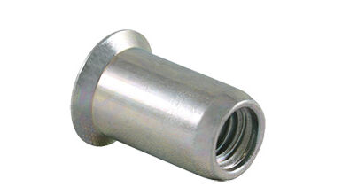 Blind rivet nuts with parallel shank