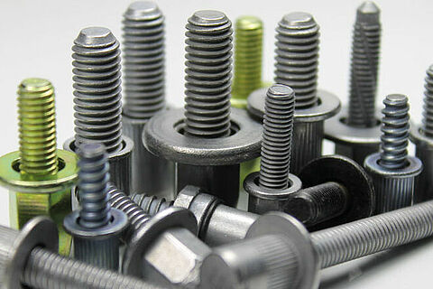 Group of blind rivet studs