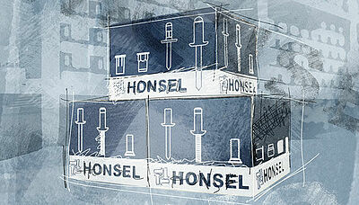 [Translate to english:] Coils von Honsel in Verpackungen