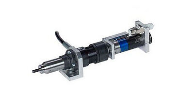 Pneumatic-hydraulic setting tool for processing blind rivet nuts and studs RivSys VNG DMSD 2G